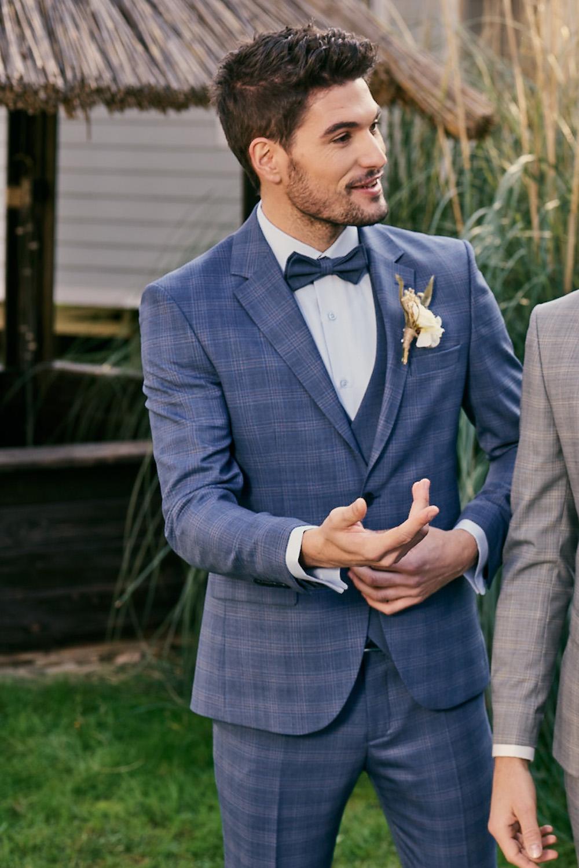 Manzetti blauer Hochzeitsanzug 9440-14